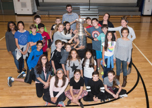 9/11/15 The Stanley Cup visits Near North Montessori for the afternoon.